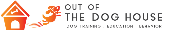 Out of the Dog House!  | Dog Training and Behavior Logo